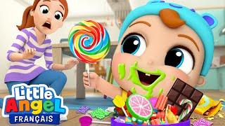 Je veux encore plus de bonbons! - Comptines pour Bébé   Little Angel Français