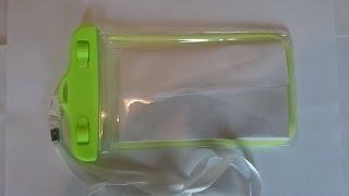 Водонепроницаемый чехол для телефона(В этом видео я делаю обзор водонепроницаемого чехла для 5 дюймового телефона Ссылка на чехол: http://ali.pub/slgj7..., 2016-07-03T17:48:28.000Z)