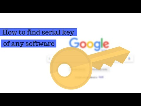 How To Find Serial Key Of Any Software For Free   Free Activation Key