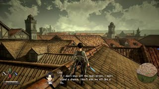 Attack on Titan 2: Final Battle Oynuyorum