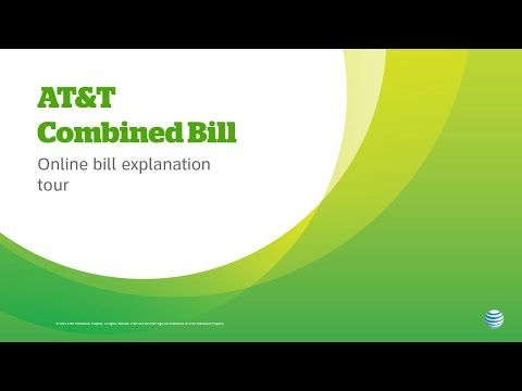 AT&T Combined Bill For Small Business