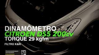 Chiptuning Citroën DS5   200cv   Dinamômetro