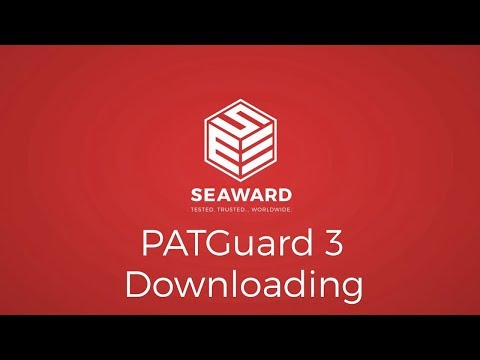 Downloading Data Into PATGuard 3 PAT Testing Software