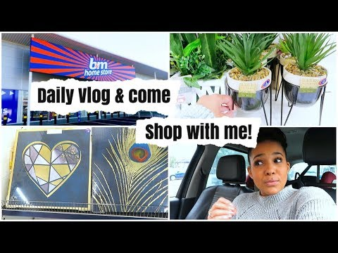 COME TO B&M WITH ME || DAILY VLOG || B&M HOME DECOR || COME SHOP WITH ME