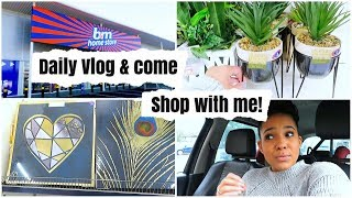 COME TO B&M WITH ME    DAILY VLOG    B&M HOME DECOR    COME SHOP WITH ME