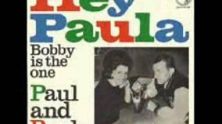 Paul &  Paula - Hey Paula ( 1963 )