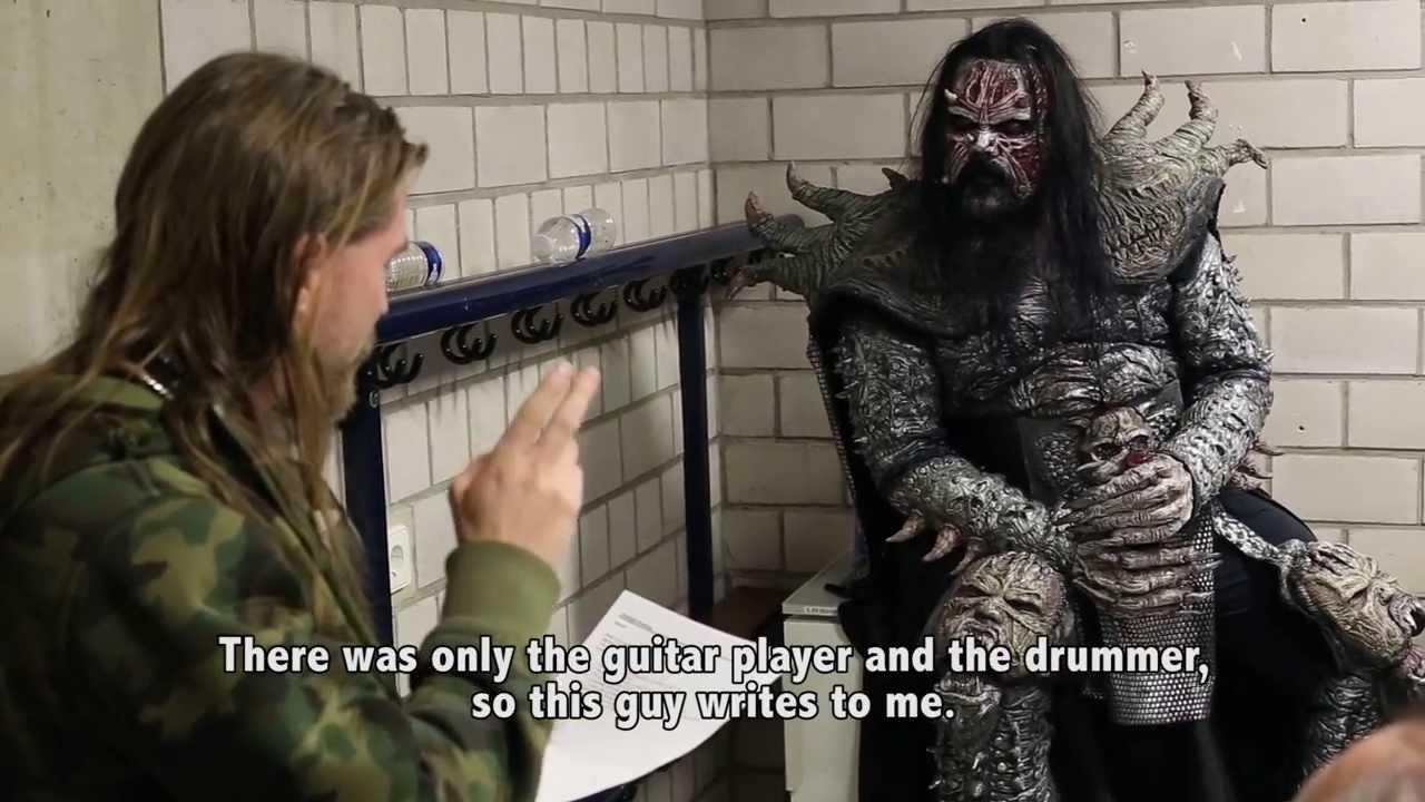 Sabaton Swedish Empire Tour 2013 — #74 — Knock Out Festival & Pär meets Mr Lordi