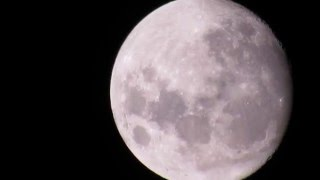 Bright and Twinkling Moon Surface | Zooming into moon with Canon SX 530