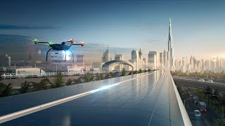 Foster + Partners Reveals Vision for Hyperloop Cargo Network in Dubai