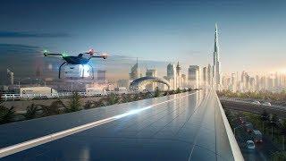 Hyperloop - Foster + Partners Reveals Vision for Hyperloop Cargo Network in Dubai