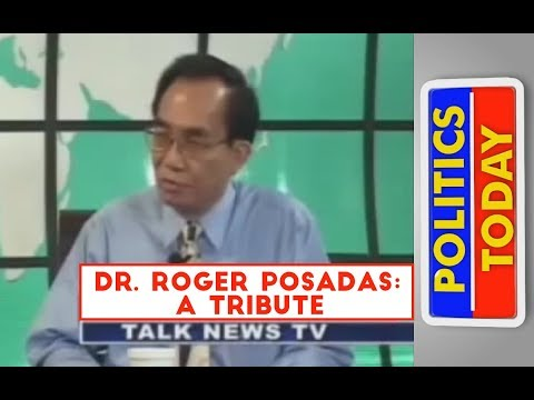 TNT Politics Today: Dr. Roger Posadas on Thorium Reactors: A Tribute