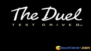 Test Drive 2 gameplay (PC Game, 1989)