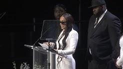 Lauren London Speaks At Nipsey Hussle's Memorial Service