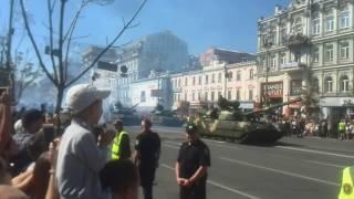 Военный парад в Киеве 24 августа 2018 года (Часть 1)