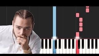 Post Malone - Better Now (Piano Tutorial)