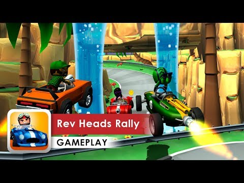 Rev Heads Rally Gameplay HD (iOS & Android) Racing game with awesome physics!