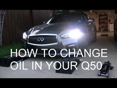 How To Change Oil On Infiniti Q50 And Reset Maintenance Light