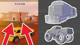 MONSTER TRUCK AND TRAIN ROBBING LEAKED!? NEW JAILBREAK UPDATE THIS WEEK! (Roblox Jailbreak)