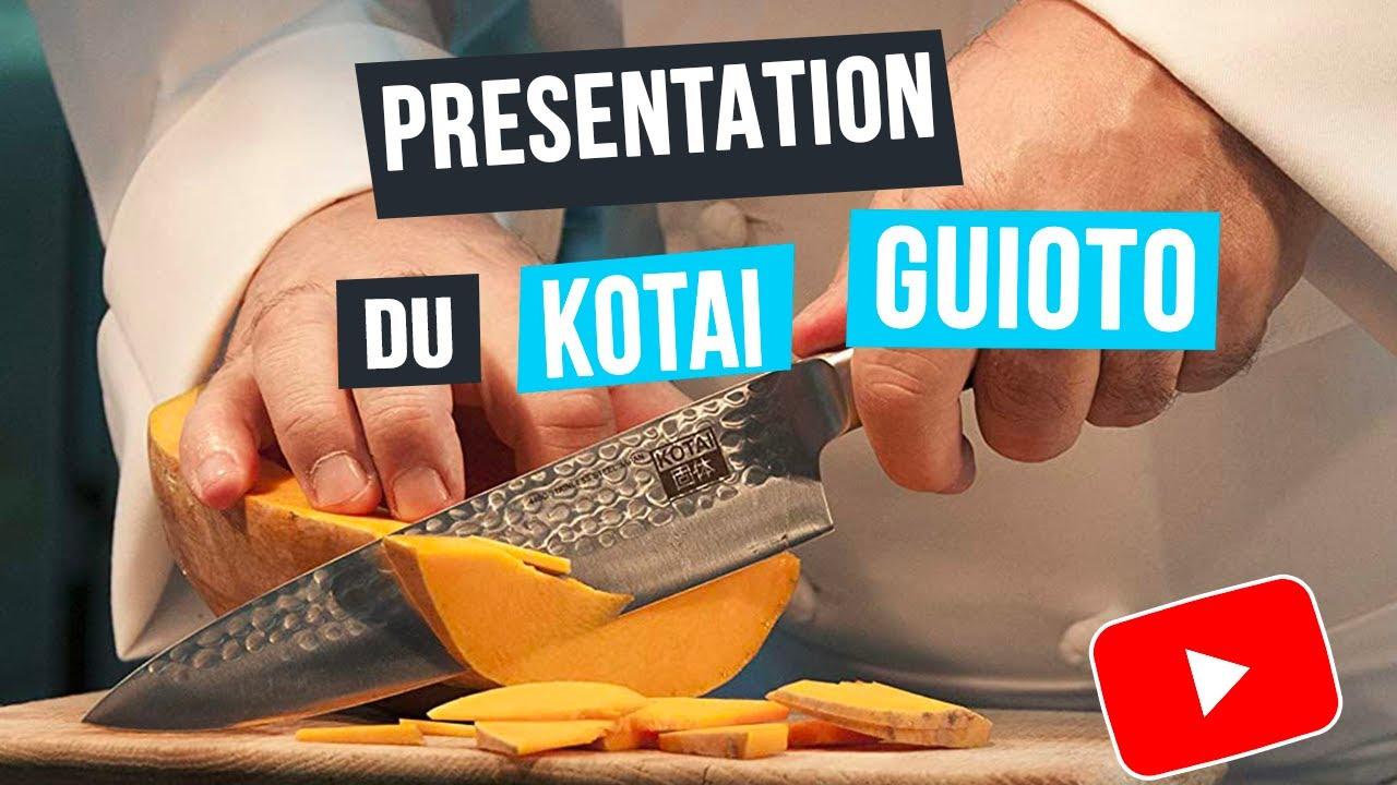 Barbecue & Co Feucherolles unboxing et démonstration du couteau japonais kotai guioto