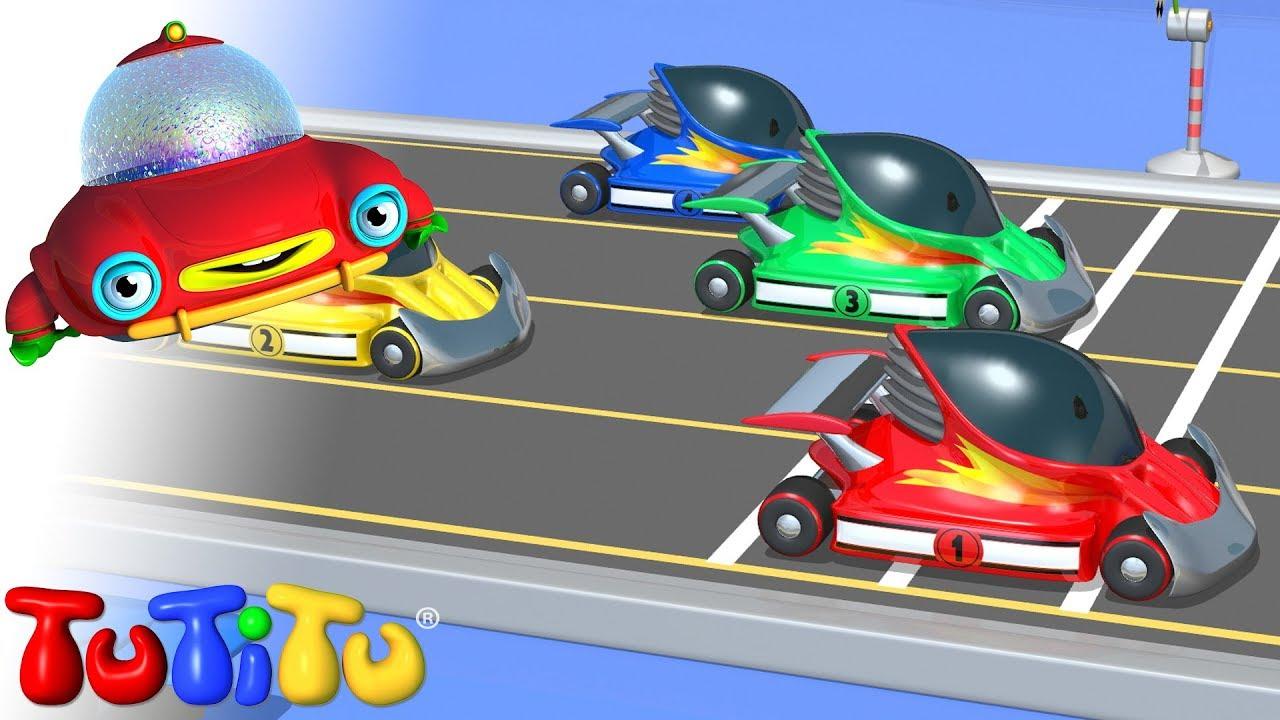 Racing Cars Cartoon Videos