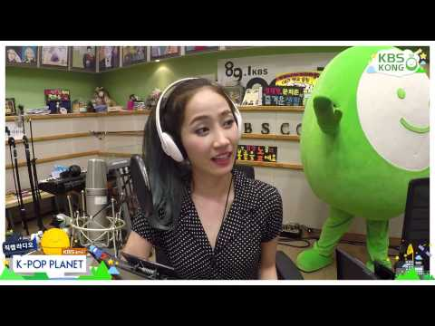 [HD] [Wonder Girls Yeeun CAM] 150823 원더걸스 예은 - K POP PLANET RADIO