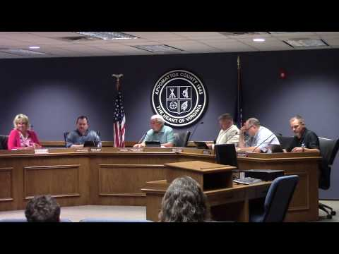7/15/19 Appomattox County Board of Supervisors Meeting