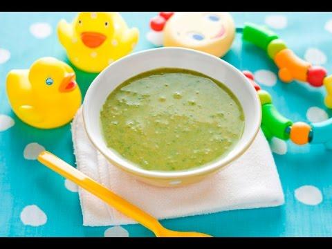 Рецепт Первый прикорм ПЮРЕ со шпинатом и сельдереем. Готовим ДЕТЯМ