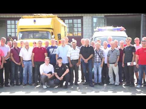MNSKHM: У рамках програми «U-LEAD з Європою» розпочато курси із підготовки 60 добровольців-вогнеборців