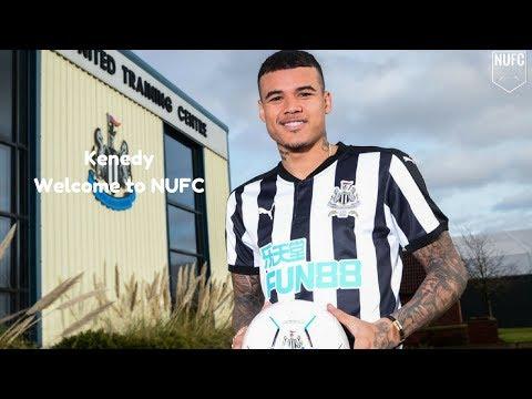 Kenedy | Welcome to Newcastle United | Skills & Goals