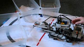 Mindstorms Nxt 2.0 Color Sorter With Catapult