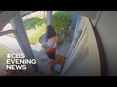 Police crack down on package thieves ahead of Christmas
