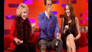 """""""I got a rubber stuck up my nose"""" - The Graham Norton Show preview - BBC One"""