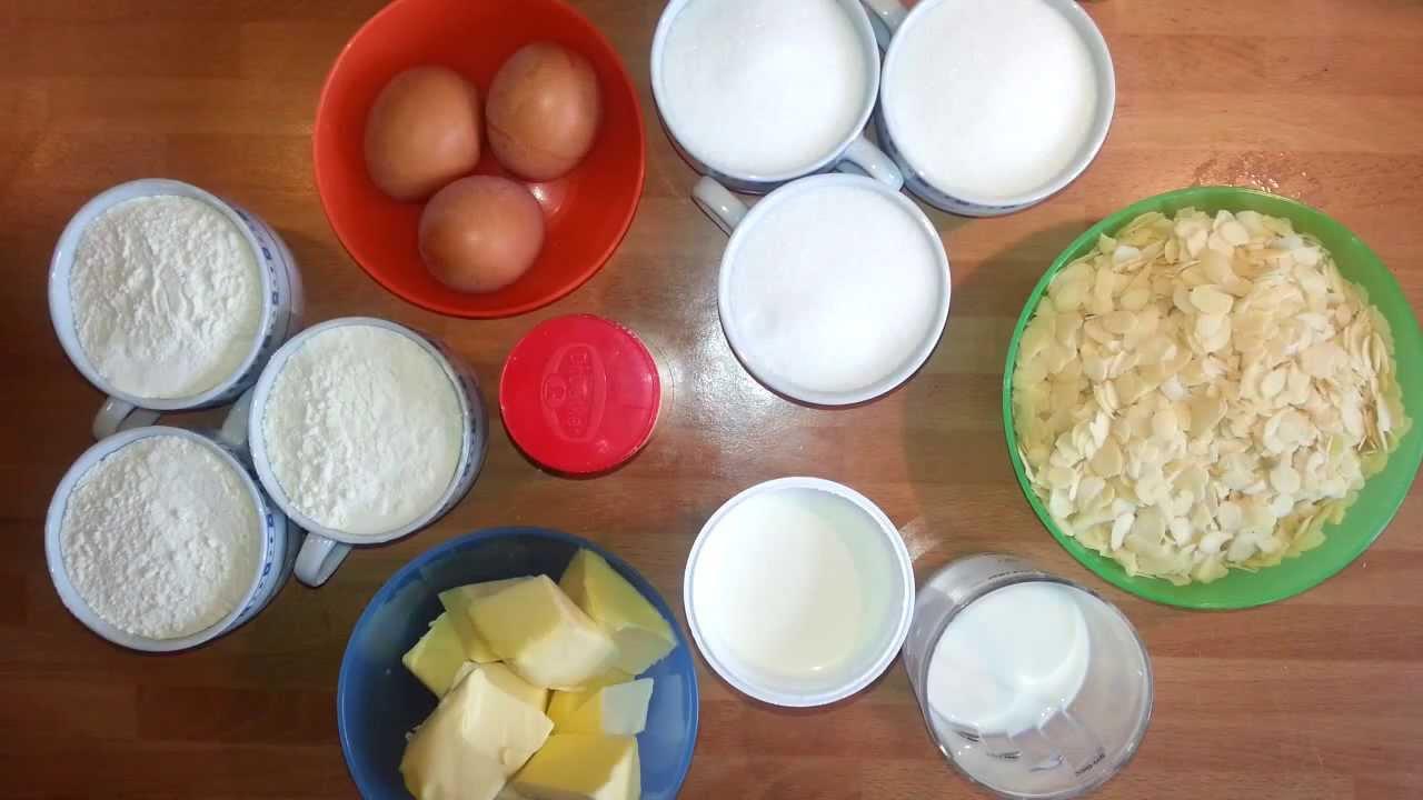 Back Rezepte Butter Mandel Kuchen Leckeres Butter Kuchen Youtube