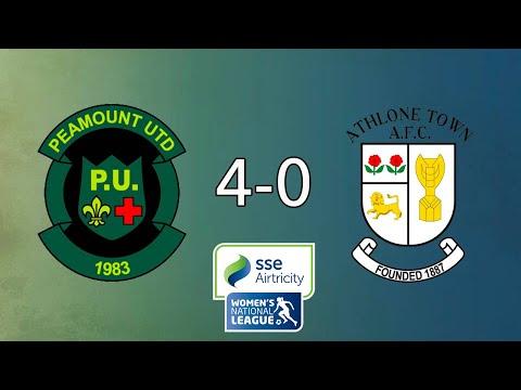WNL GOALS GW24: Peamount United 4-0 Athlone Town
