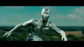 Погоня Человека факела за серебряным Сёрфером. Фантастическая четвёрка 2. 2007