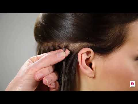 How to attach Stick Hair Extensions 1
