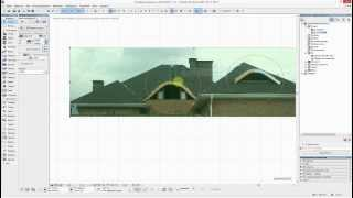 Сложные крыши в ArchiCAD 17
