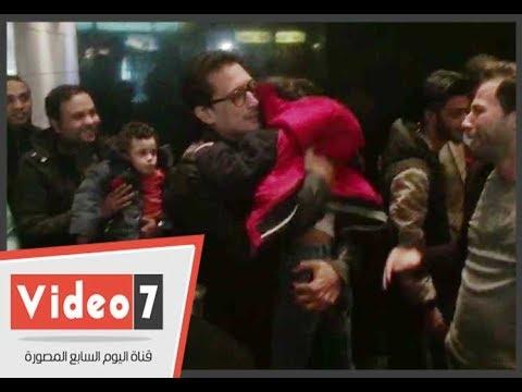 أحمد عيد يواسى طفل بكى تأثرا بأحداث فيلم خلاويص  - 20:21-2018 / 1 / 21