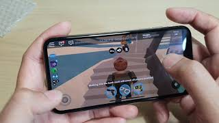 iPhone XS: Testen der Roblox Gaming Platform und Grafik FPS