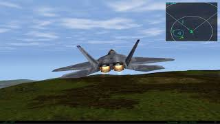 F22 Lightning III on Windows 10 x64 with nGlide