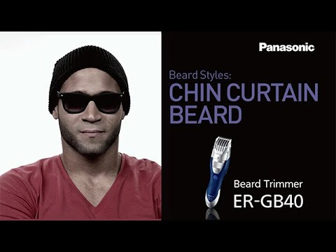 chin curtain beard panasonic men 39 s grooming tips youtube. Black Bedroom Furniture Sets. Home Design Ideas