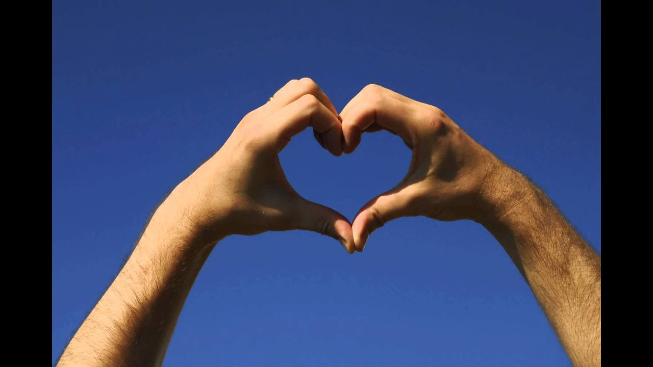Heart Hand Sign Made By Male Hands Free Photos And Art Youtube