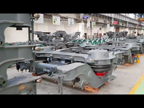 Making of Bogies for LHB Coaches in Integral Coach Factory at Chennai