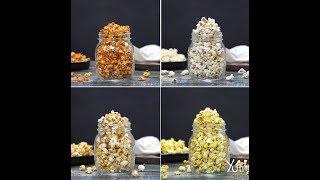 4 Ways Flavoured Popcorn