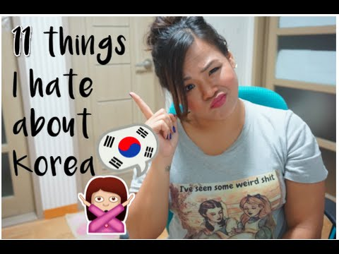 11 Things I Hate About Living in South Korea