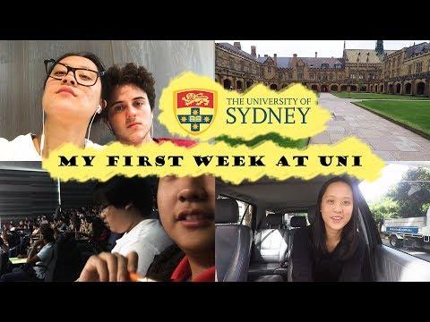 My First Week at University! | University of Sydney