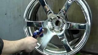 химическая металлизация автомобильного диска(, 2013-04-05T19:45:27.000Z)