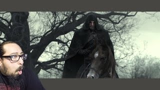 The Witcher 3: Wild Hunt - Killing Monsters Cinematic Trailer REACTION
