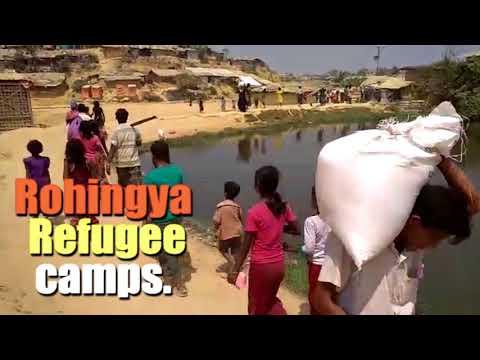 Daily Life of Rohingya in Bangladesh Camps