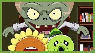 Plantas vs Zombies Animado Capitulo 1,2,3,4 Completo ☀️Animación 2017